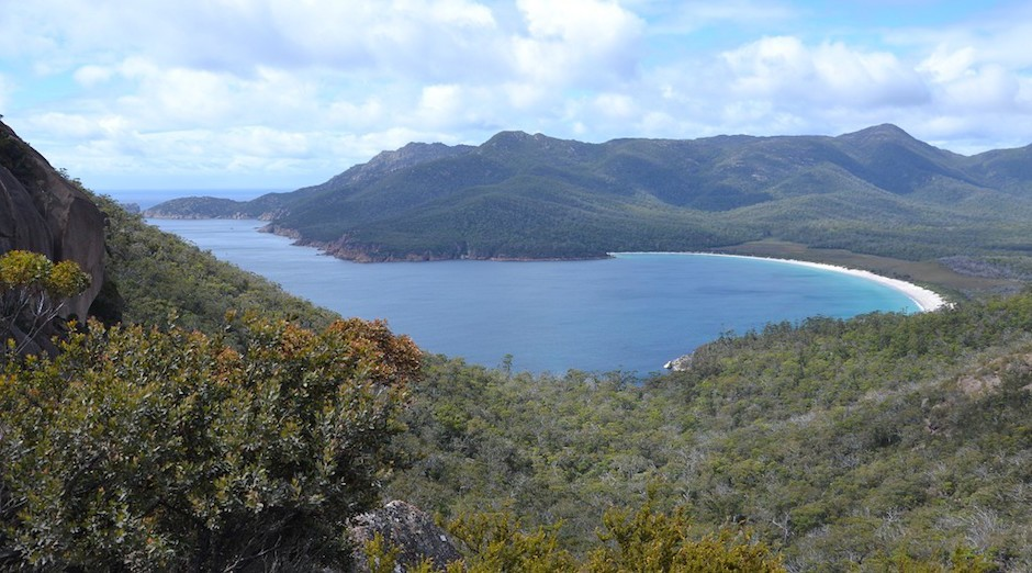 Wine Glass Bay - Tasmanien